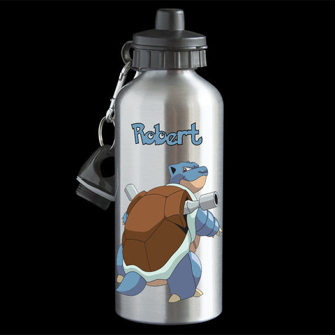 Personalised Blastoise Water Bottle