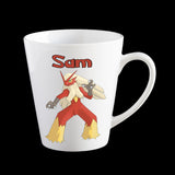 Personalised Pokemon Blaziken Coffee Mug