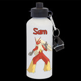Blaziken Pokemon Go drink bottle