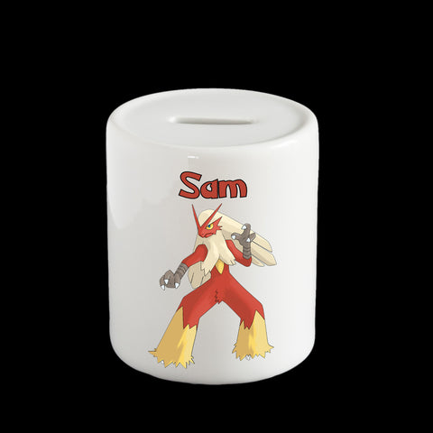 Blaziken Pokemon money box