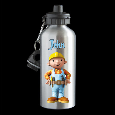 Personalised Bob the Builder Water Bottle, Bob the Builder drink bottle