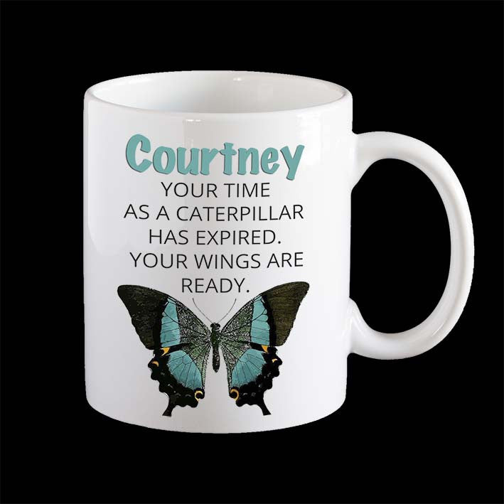 Personalised Inspirational Coffee Mug