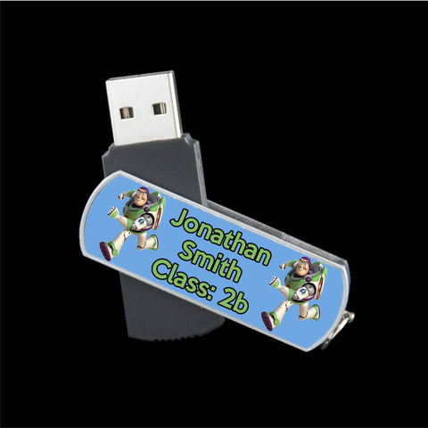 Personalised Buzz Lightyear USB memory stick