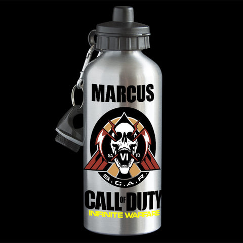 Personalised Call of Duty Infinite Warfare Water Bottle, Call of duty drink bottle