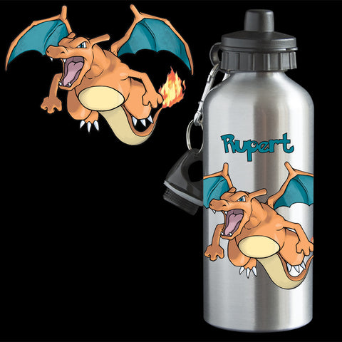 Charizard Pokemon Water bottle
