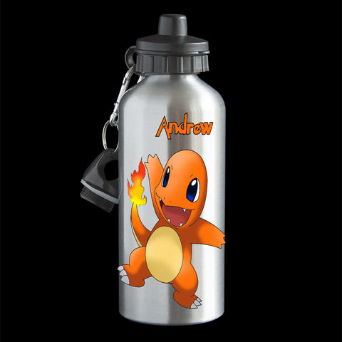 Personalised Charmander Pokemon Go Water Bottle