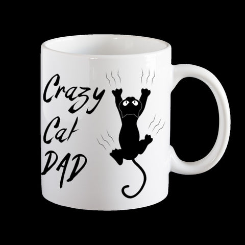 Crazy Cat Dad Mug