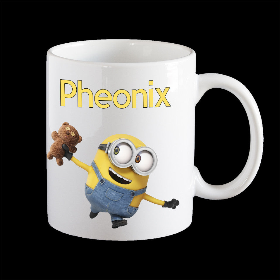 Personalised kids melamine Bob minion Mug