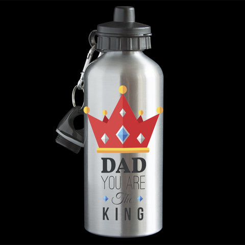 Father's Day Water Bottle, Dad you are the King water bottle, Fathers day gift