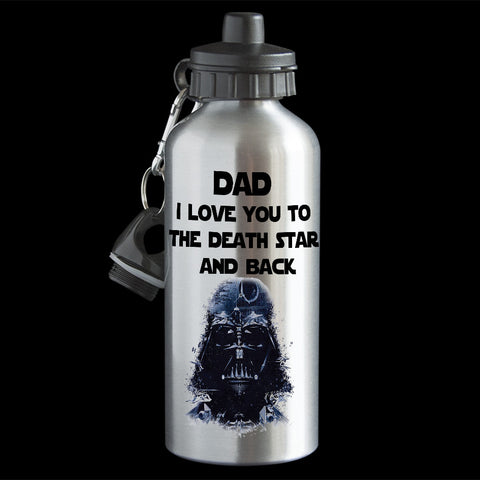 Father's Day Darth Vader Water Bottle, Star Wars Darth Vader funny Dad gift