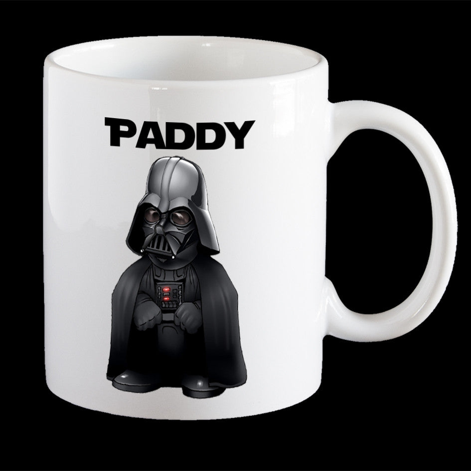 Personalised Darth Vader Star Wars Coffee Mug, Darth Vader Plastic Mug