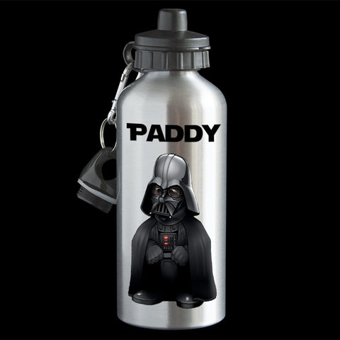 Personalised Darth Vader Star Wars Water Bottle, Darth Vader drink bottle