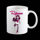 Personalised Draculaura Monster High Coffee Mug