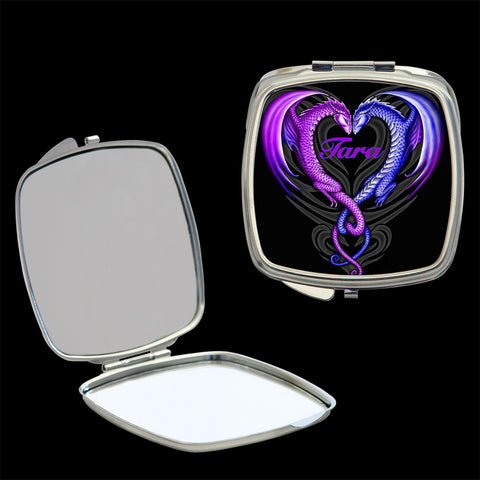 Dragon mirror compact