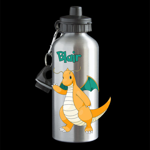 Personalised Dragonite Pokemon Go Water Bottle