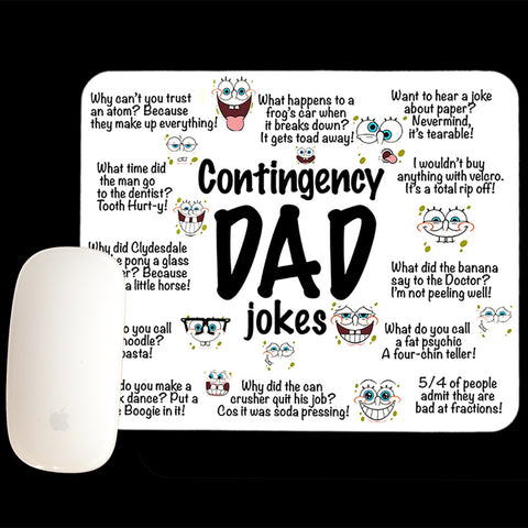 Dad Jokes Mouse pad
