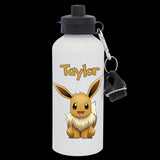 Personalised Eevee pokemon Go Water Bottle
