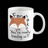 For Fox sake Leaving Coffee Mug