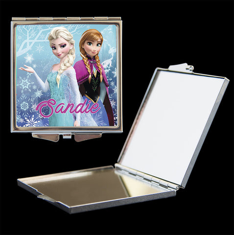 Frozen personalised compact mirror