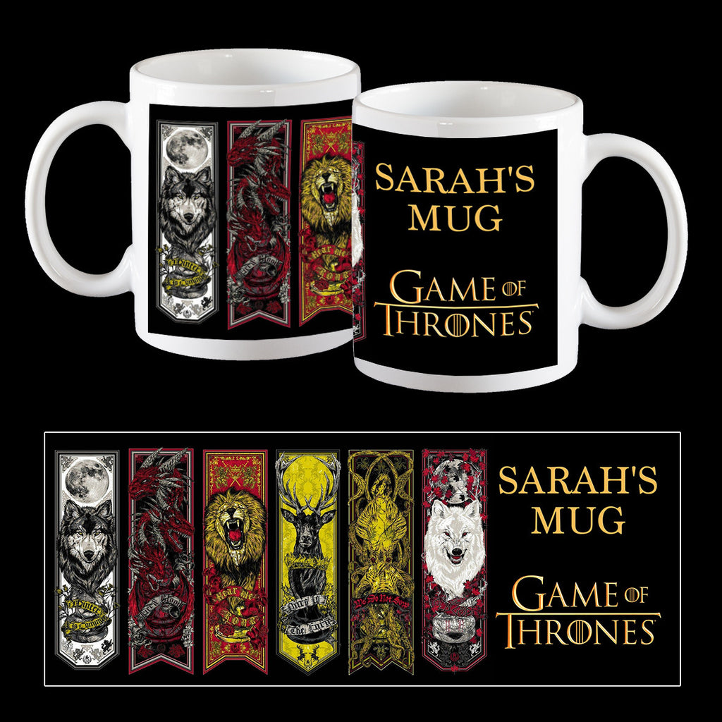 Personalised Game of Thrones Coffee Mug