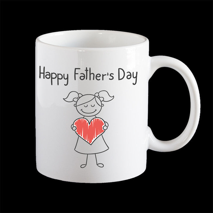 Father's Day Mug, Daughter Love Fathers Day Coffee Mug
