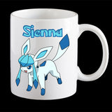 Personalised Glaceon Pokemon Mug, Glaceon Pokemon Go mug