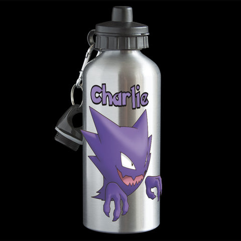 Personalised Haunter Pokemon Water Bottle, Haunter Drink bottle