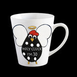 funny holy cluck I'm 30, 30th birthday mug