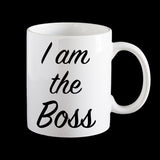 Boss coffee mug, work mug