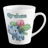 Personalised Pokemon Ivysaur Coffee Mug, Ivysaur plastic cup