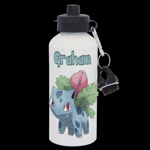 Personalised Ivysaur Pokemon Water Bottle, Ivysaur Drink bottle