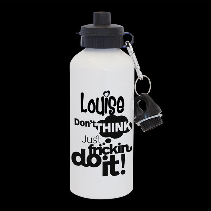 Personalised Just Fricking do it Water Bottle