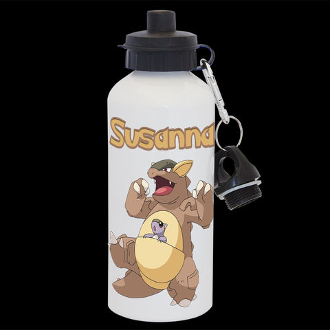 Personalised Kangaskhan Pokemon Water Bottle, Kangaskhan Drink bottle