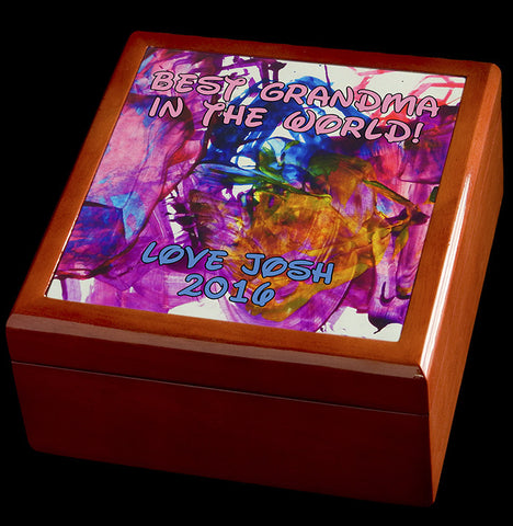 Your Art On A Jewellery Box