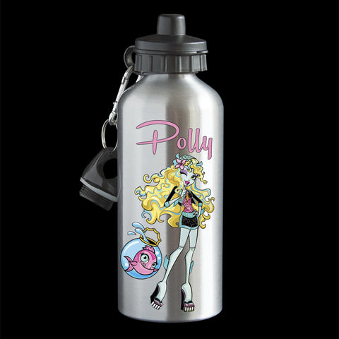Personalised Lagoona Water Bottle, Monster High Lagoona Drink Bottle