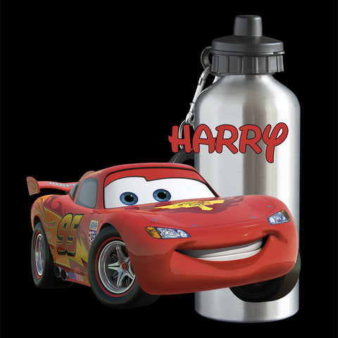 Lightning McQueen Water bottle personalised