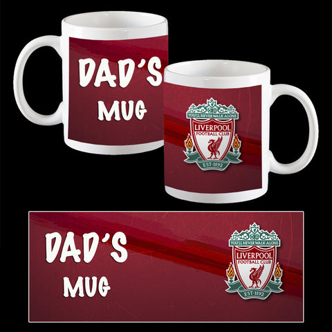 Father's Day Mug, Liverpool Father's Day Mug, Soccer Dad Mug