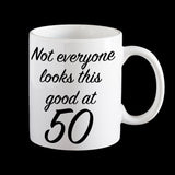 funny 50th birthday mug