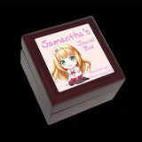 Personalised earring box girls