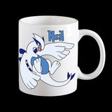 Personalised Pokemon Lugia Coffee Mug