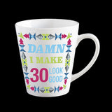 Funny 30th birthday mug