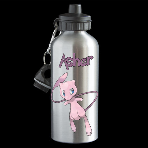 Mew Pokemon Water Bottle