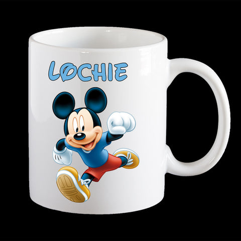 Personalised Mickey Mouse Mug, Disney Mickey Mouse kids mug