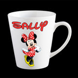 Personalised Minnie Mouse Mug, Disney Minnie Mouse kids mug