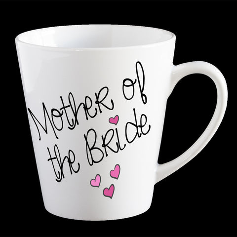 Personalised Mother of the Bride Coffee Mug