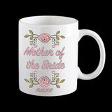 Mother of the Bride Personalised Mug, Wedding mug