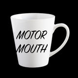 Motor Mouth personalised Coffee Mug, Funny Birthday Mug