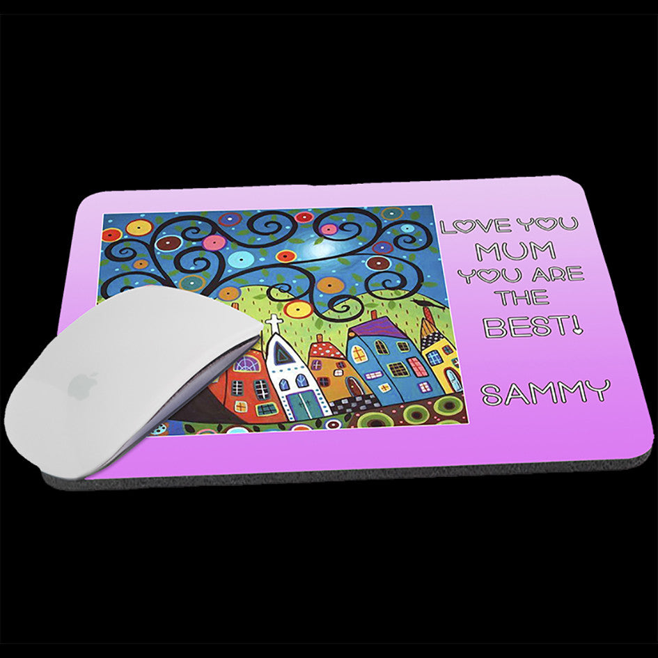 Your Art on a Mousepad