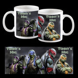 Personalised TMNT Ninja Turtles Coffee Mug