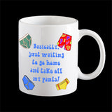 Pants off Personalised Coffee Mug